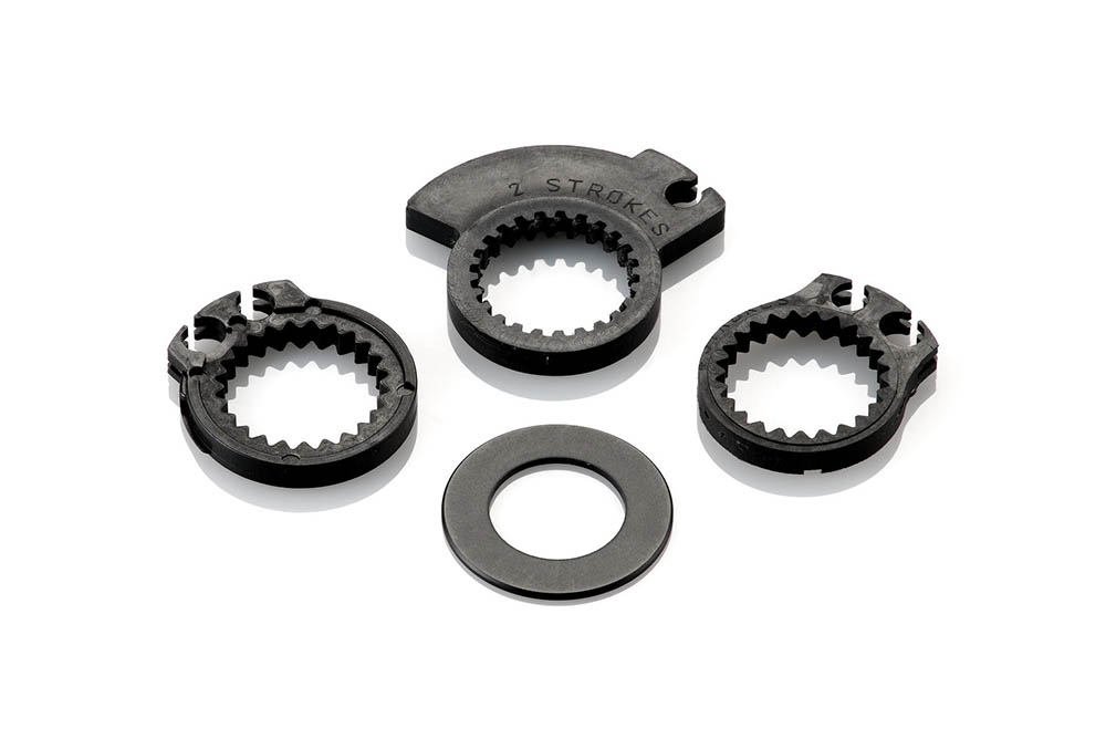 Adaptador para puños Rizoma para Aprilia RSV4 09-10 / KTM RC8 08>