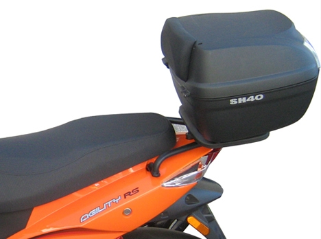 Soporte de baúl trasero Shad K0GL51ST para Kymco Agility 50/125 RS 10-20