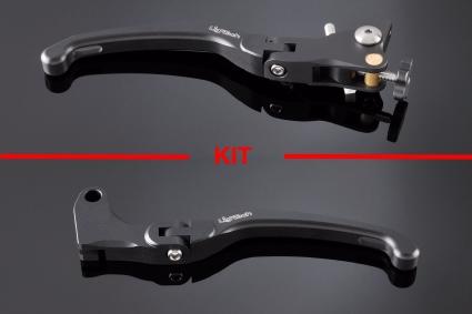 Kit manetas de freno y embrague Lightech para Kawasaki Z800 13-14 | Z750 07-12