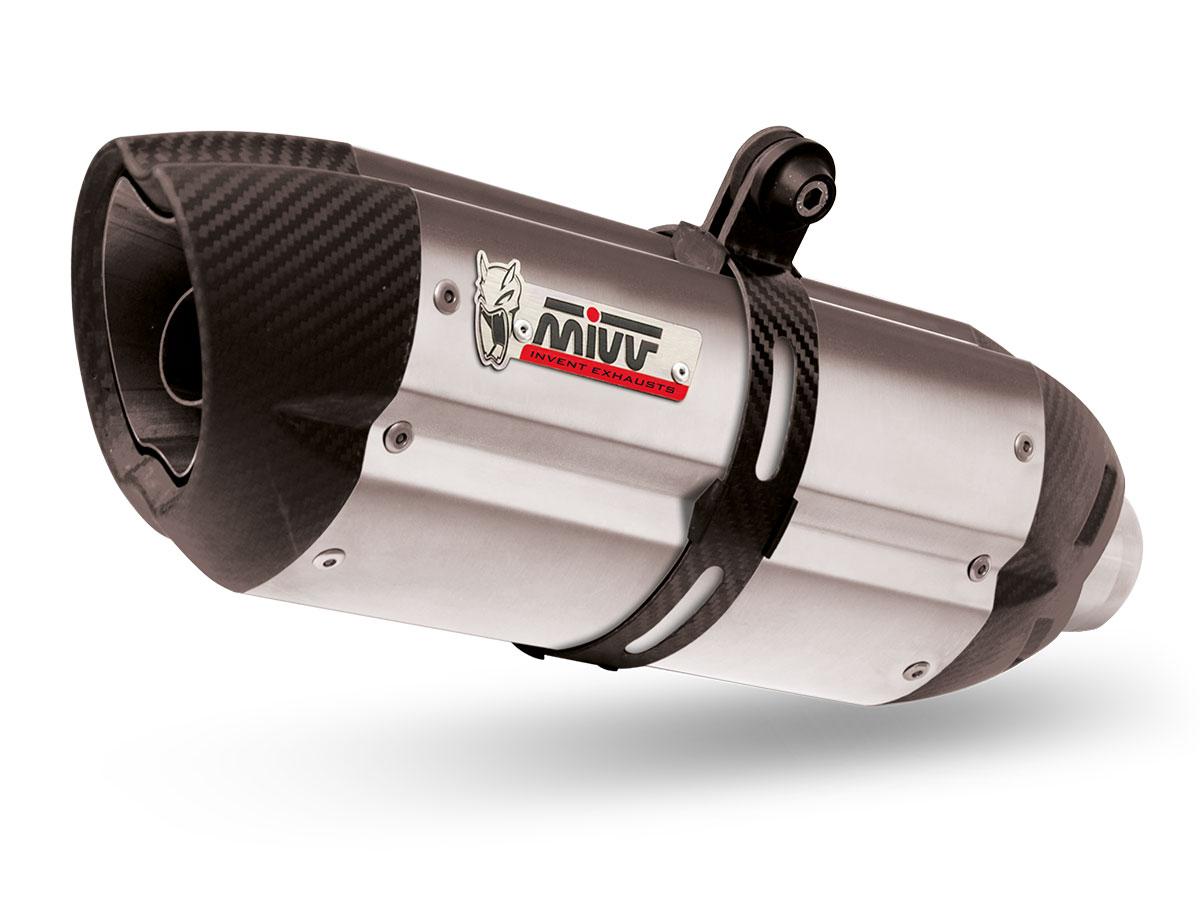 Escape completo Homologado Mivv Suono en acero inox. para KTM RC 390 14-16