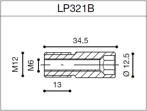 Adaptador de retrovisores Class Retro/Reverse Retro de Rizoma LP321B para BMW S 1000R 14> (unid.)
