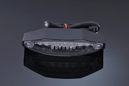 Luz piloto homologado LT002 Lightech con cubierta negra