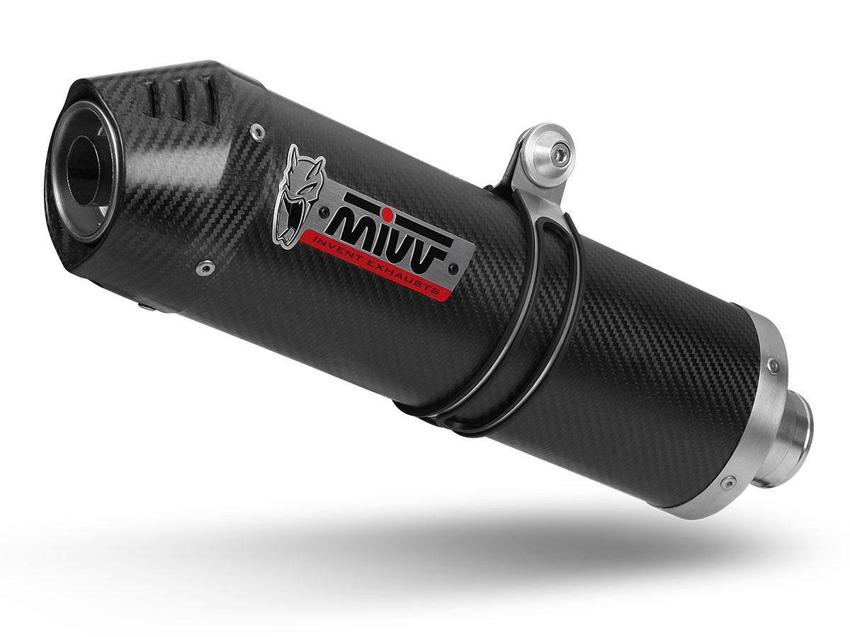 Escape homologado Mivv Oval en carbono para Moto Guzzi Griso (Ver modelos compatibles)