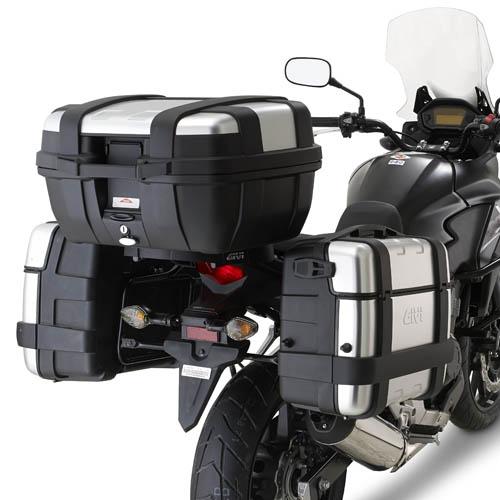 Soporte de maletas laterales Givi PL1121 para moto Honda CB 500X 13>