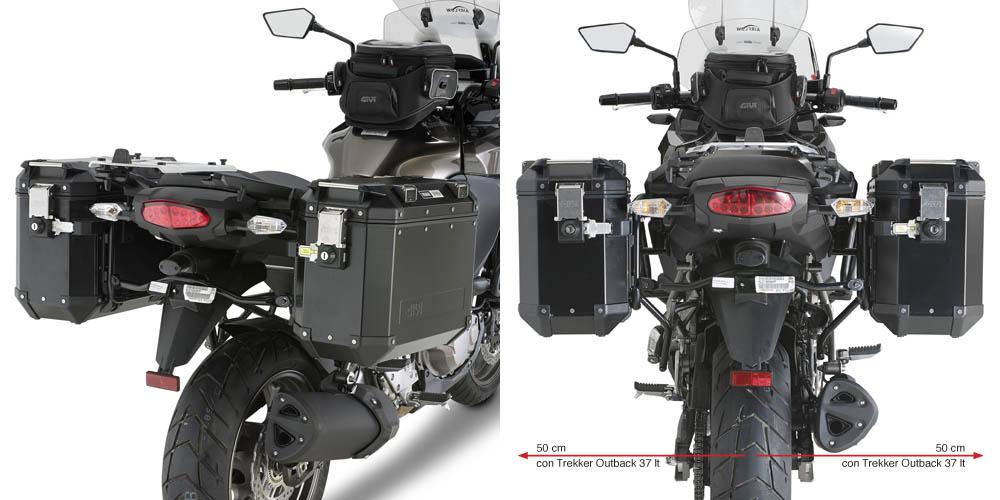 610f95b9 15 Soportes de Maleta para KAWASAKI VERSYS 1000