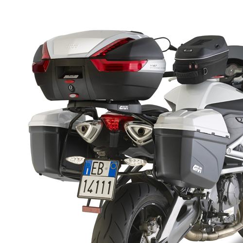 Soporte de maletas laterales Givi Monokey Retro Fit para moto Benelli BN600  2013-2017