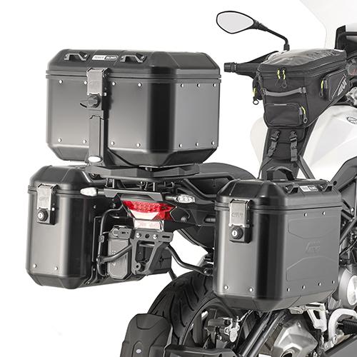 Soporte de maletas laterales Givi PL8703 para moto BENELLI TRK502 17>