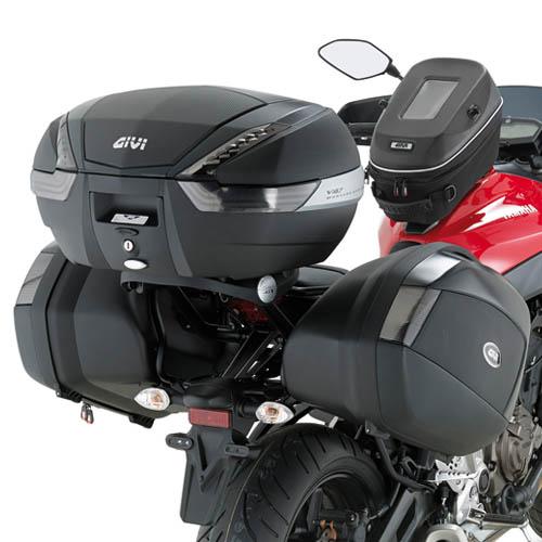 Soporte maletas laterales Givi Monokey-Side para moto Yamaha MT-07 14-17