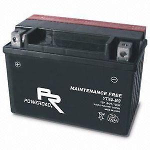 Batería moto PoweRoad ácido modelo YTX4LBS