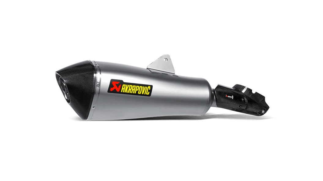 Escape Akrapovic  en titanio para BMW R 1200 RT 14-18