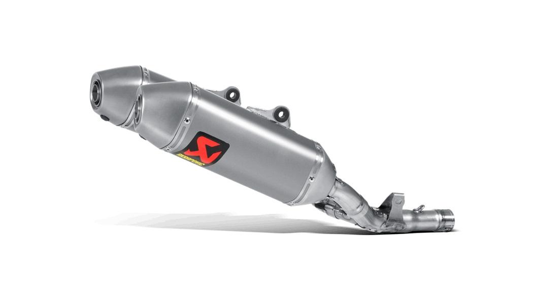 Escape Akrapovic en titanio para Honda CRF 250 R 16-17