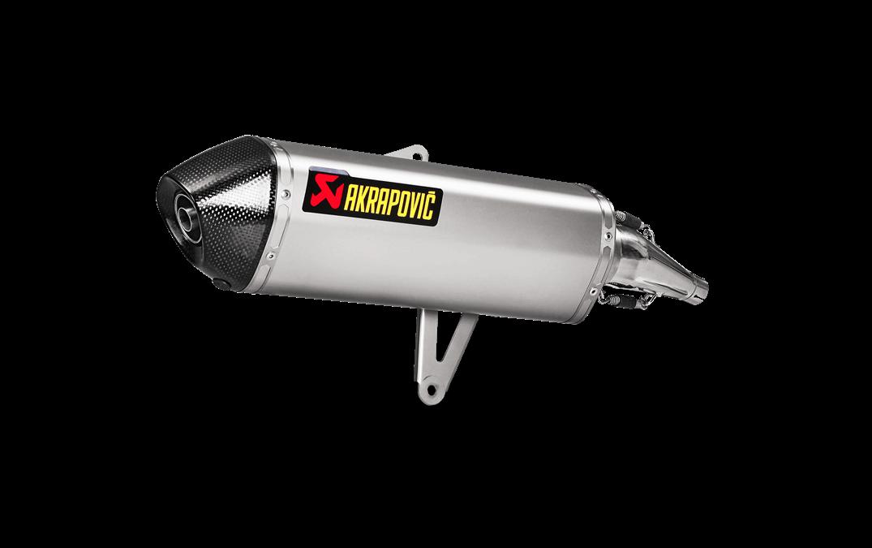 Escape homologado Akrapovic para Honda SH300 17-18