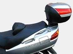 Soporte Baúl Trasero Shad S0BR62ST para Suzuki Burgman 650 02-14 Executive 650 04-20