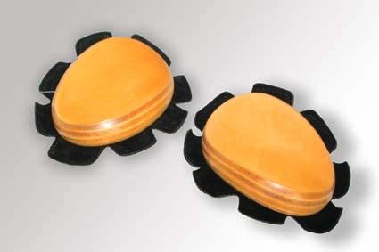 Deslizador Leather de Lightech en cuero (Par)