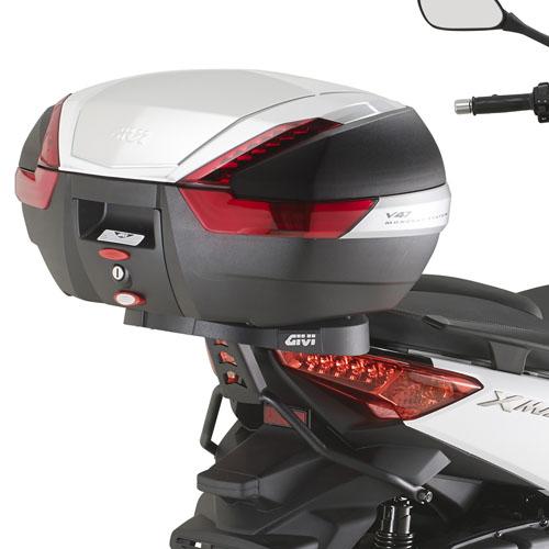 Soporte de baúl trasero Givi Monokey SR2111 para moto Yamaha X-Max 400 2013-2016
