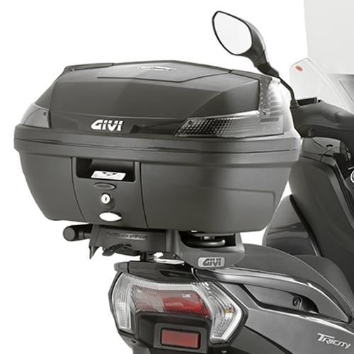 Soporte de baúl trasero Givi SR2120 para Yamaha Tricity 125 14-20 y MBK Tryptik 125 14-17