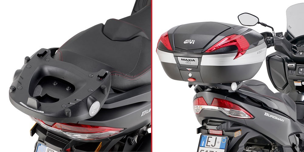 Soporte maleta Givi para Suzuki Burgman 400 2006>