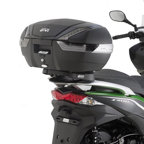 Soporte de baúl trasero Givi monokey para Kawasaki J 300 14-19 | J 125 14-19