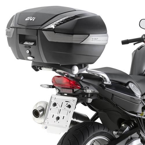 Soporte de baúl trasero Monokey Givi SR5109 para BMW F800GT 13-19, F800R 15-19 y F800ST 06-16
