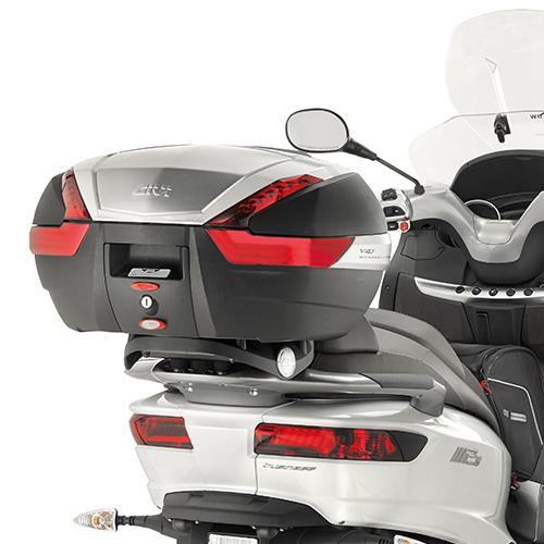 Soporte de baúl trasero Givi Monokey SR5609 para Piaggio MP3 300 / 500 Sport / Business 14-17