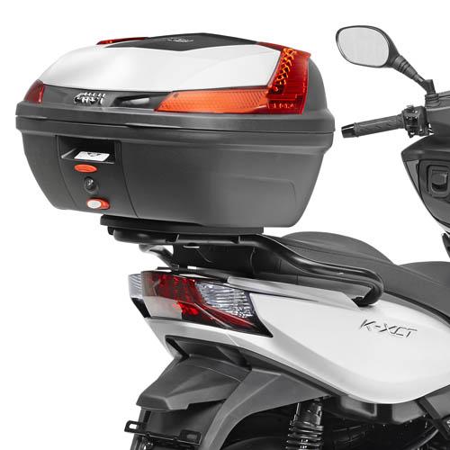 Soporte de baúl trasero monolock Givi SR6103M para moto Kymco K-XCT 125i-300i 13>