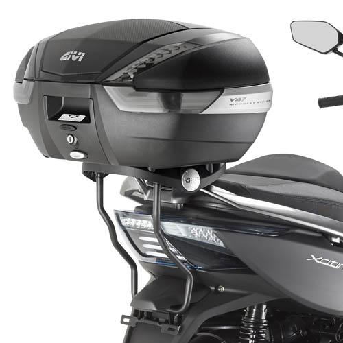 Soporte de baúl trasero Givi monokey SR6104 para moto Kymco Xciting 400i 13-17