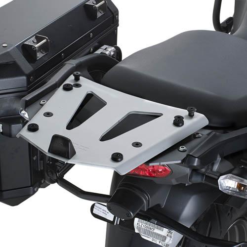 Soporte de baúl trasero Givi Monokey SRA4105 fabricado en aluminio para moto Kawasaki Versys 1000 12>