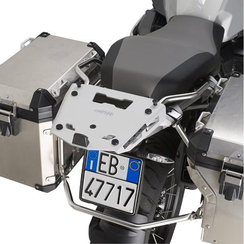 Soporte trasero Givi Monokey en aluminio para BMW R 1200/1250 GS Adventure 14-20