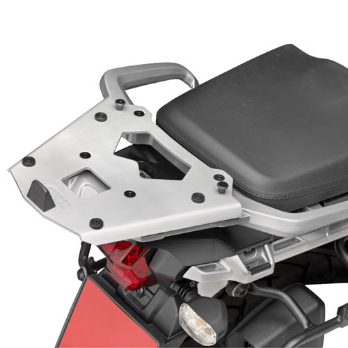 Soporte de maleta Givi Monokey SRA6403 con parrilla de aluminio para moto Triumph Tiger Explorer 1200 2012>