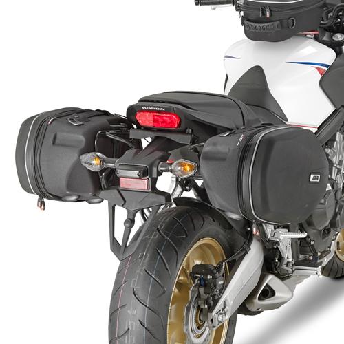 Soporte de alforjas laterales Givi TE1137 para moto Honda CB 650F / CBR 650F 14>