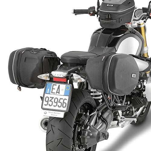 Soporte de alforjas laterales Easylock Givi TE5115 para moto BMW R NINE T 2014>