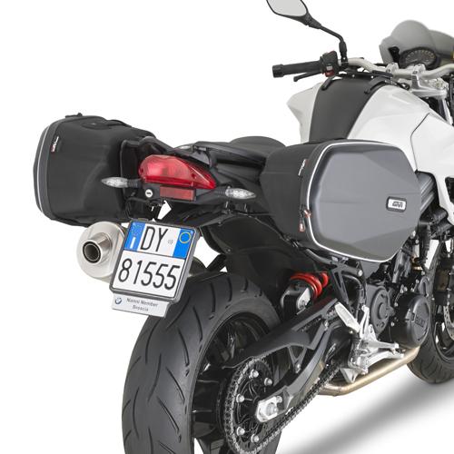 Soporte de alforjas laterales moto TE5118 para BMW F800GT 13-19 y F800R 09-19