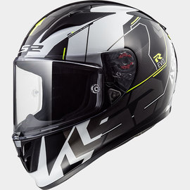 Casco integral LS2 Arrow R EVO Techno Negro/Blanco