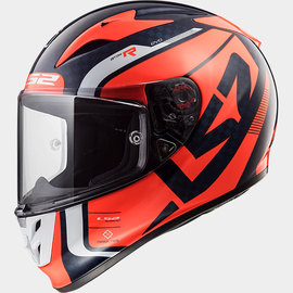 Casco integral LS2 Arrow C EVO Carbon Sting Naranja/Negro