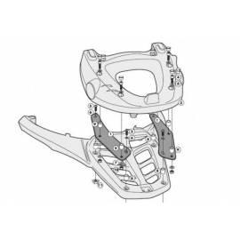 Soporte maleta Kappa Monokey para Yamaha FZ8 / Fazer 8 800 10-12 y Yamaha T-Max 500 08-11
