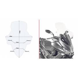 Cúpula transparente Givi D6104ST para moto Kymco Xciting 400i / S400i 13-20