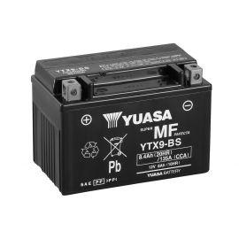 Batería Yuasa YTX9-BS sin mantenimiento
