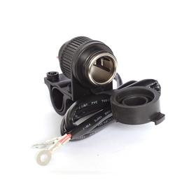 Cargador con conexión tipo encendedor 12V multiusos para moto