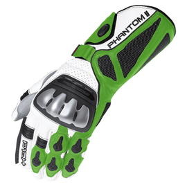 Guante Racing para hombre Held Phantom II blanco/verde