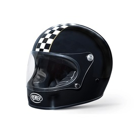 Casco moto Premier Trophy CK Black