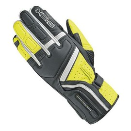 Guante touring para hombre Held Travel 5 Negro/Amarillo fluor