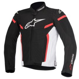 Chaqueta Alpinestars T-GP Plus R V2 Air Negro / Blanco / Rojo