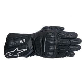 Guantes de mujer Alpinestars Stella SP-8 V2 Negro / Gris Oscuro