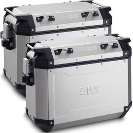Pack Maletas Givi Tekker Outback 48 (IZ) y 37 (DER) Lts. Aluminio