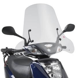 Cúpula transparente Givi 288A para moto Yamaha / Keeway / MBK / Piaggio (Consultar modelos)