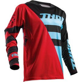 Camiseta cross Fuse Air Rive THOR Rojo/azul