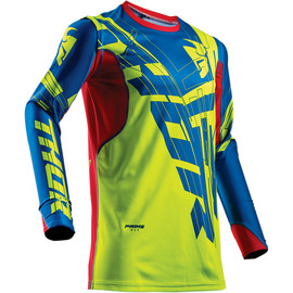 Camiseta cross Prime Fit Paradigm THOR Lima/Azul