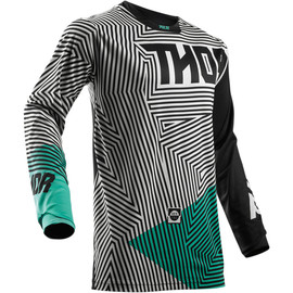 Camiseta cross Pulse Geotec THOR Negro
