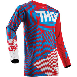 Camiseta cross Pulse Geotec THOR Rojo