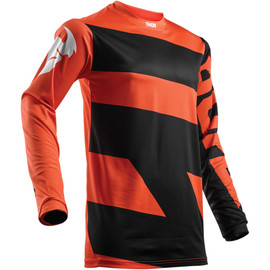 Camiseta cross Pulse level THOR Naranja/negro